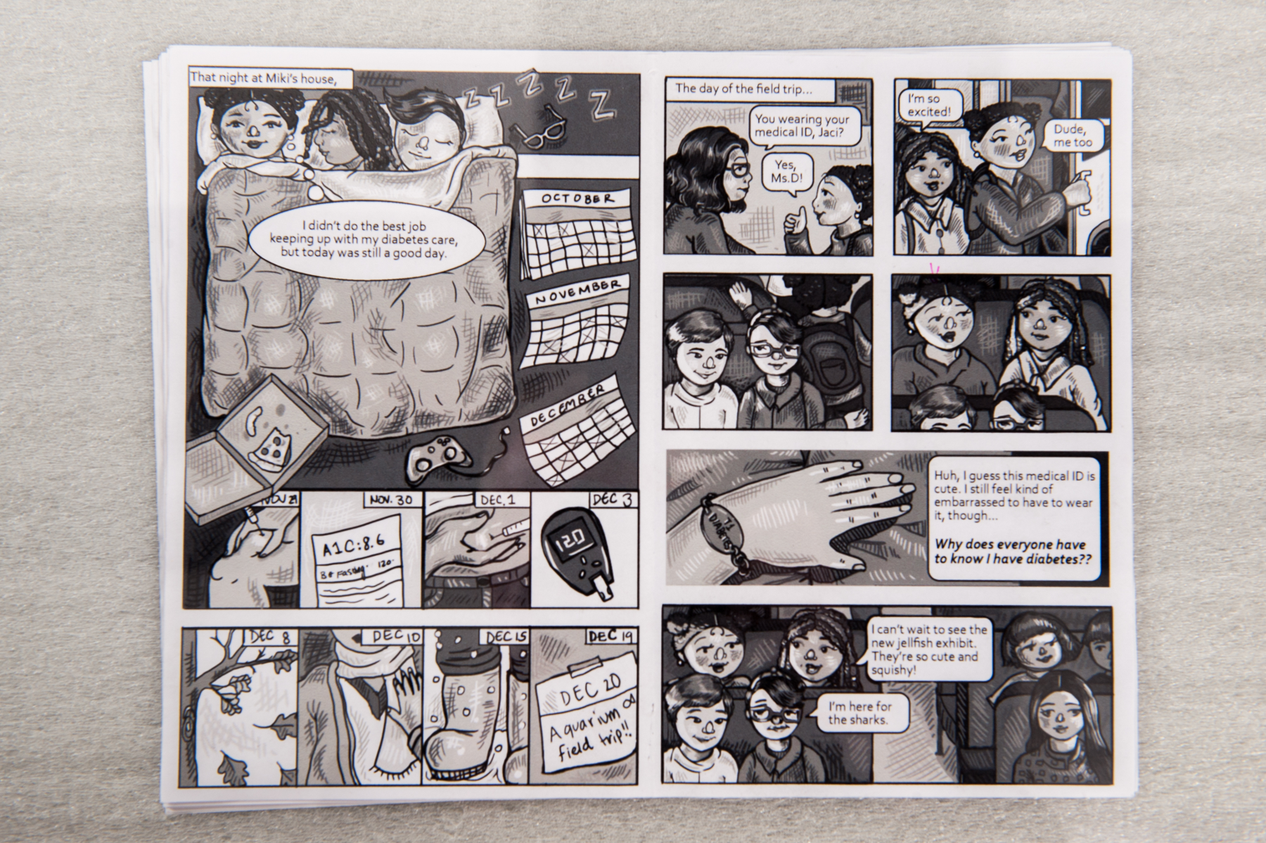 Real Research: Lohitha Kethu creates graphic novel to help