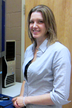 Karolina Aberg, Ph.D., associate director of the Center for Biomarker Research and Personalized Medicine, VCU.