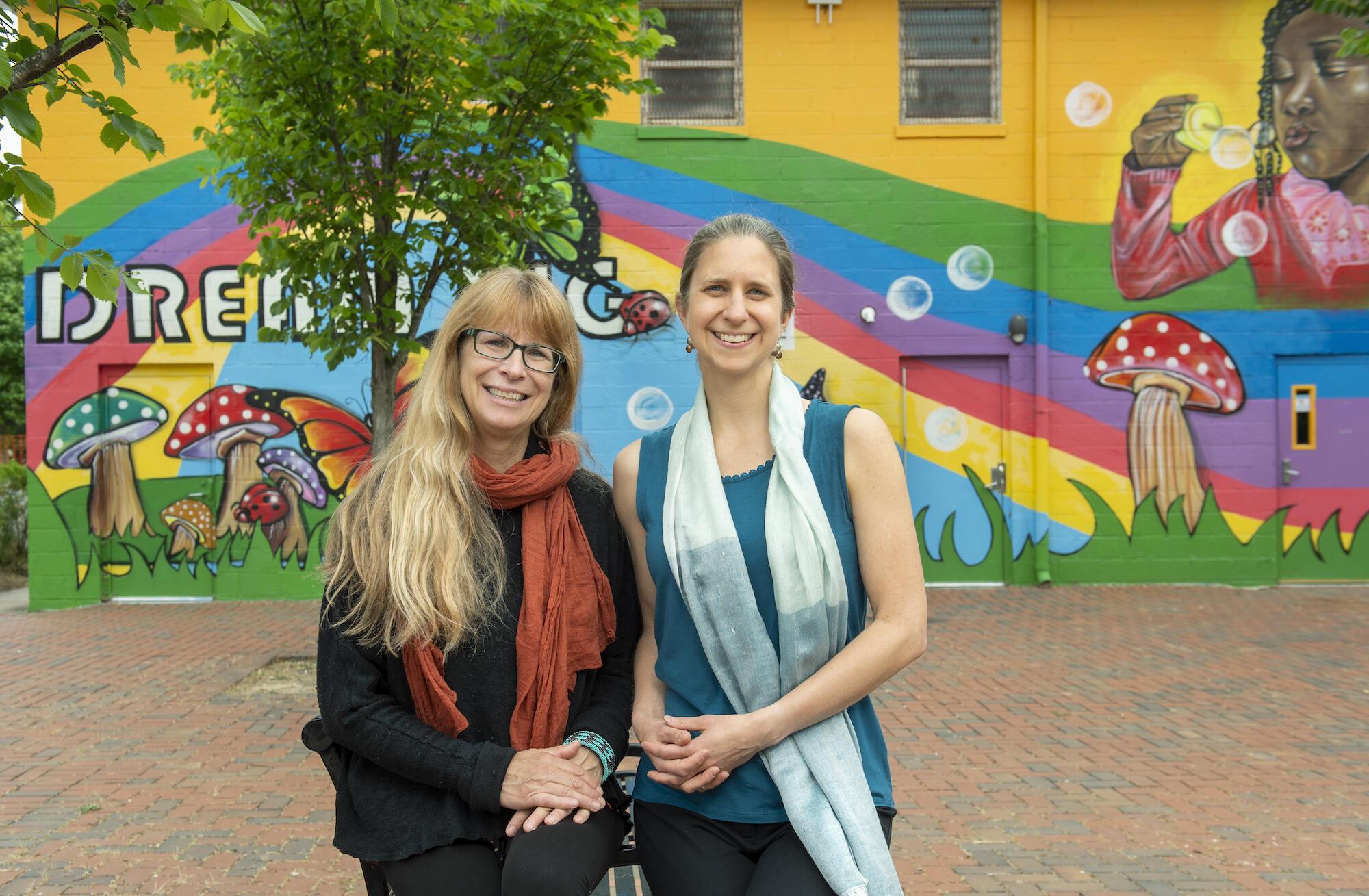 Susan Bodnar-Deren and Patricia Kinser