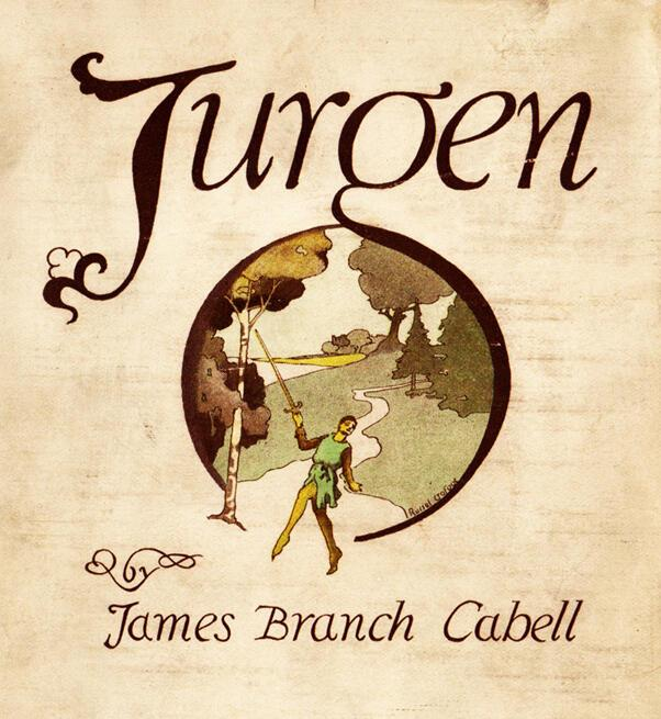 """Cover of """"Jurgen: A Comedy of Justice"""" by James Branch Cabell"""